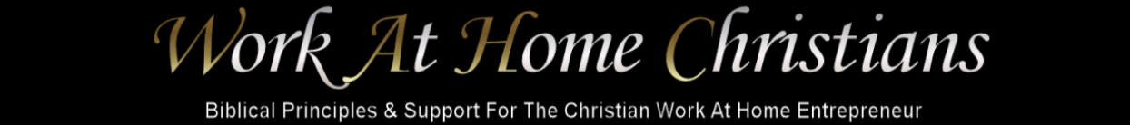 Work At Home Christians Top Image - Pages